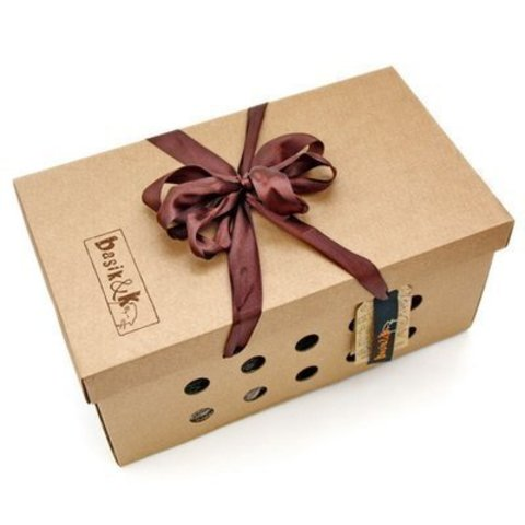 Коробка кота Басика в штанах на подтяжках