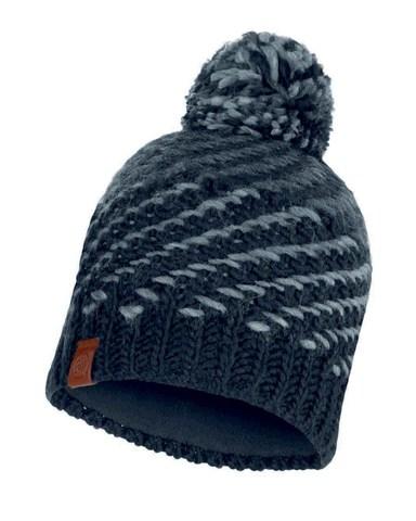 Шапка вязаная с флисом Buff Hat Knitted Polar Nella Graphite