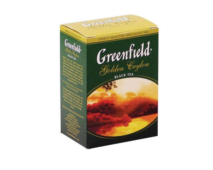 Чай черный листовой Greenfield Golden Ceylon, 100 г (Гринфилд)