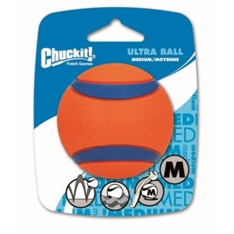 Теннисный мяч CHUCKIT! Ультра, резина, большая.