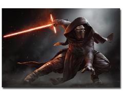Постер Арт Звездные войны Кайло Рен — Poster Art Star Wars Kylo Ren