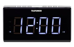 Радиочасы TELEFUNKEN TF-1525 Black/White