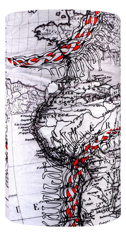 Бандана-труба летняя 4Fun Explore Old Map