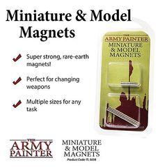 Army Painter Miniature & Model Magnets (2019) / Магниты для миниатюр и моделей