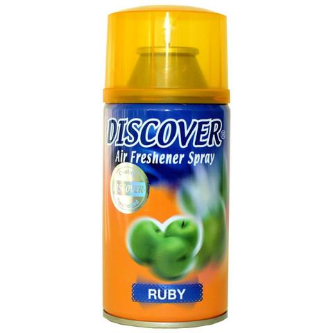 Освежитель воздуха DISCOVER Ruby(Яблоко) 320 мл. спрей(сменный баллон)