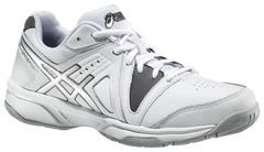 Детские теннисные кроссовки Asics Gel-Gamepoint GS (C415L 0174) белые