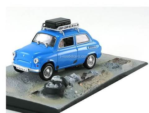 ZAZ-965A blue Goldeneye James Bond Movie Car 007 Collection Altaya 1:43