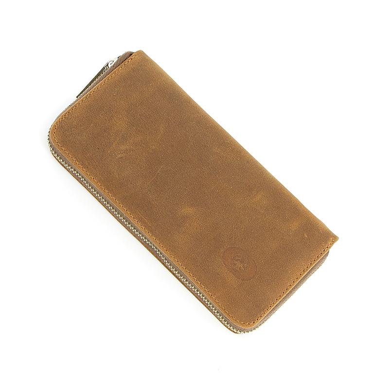 Набор бритвенный Dovo, 4 предмета, цвет коричневый, кожаный футляр