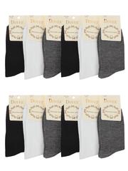 520 носки женские цветные 37-41 (12шт)