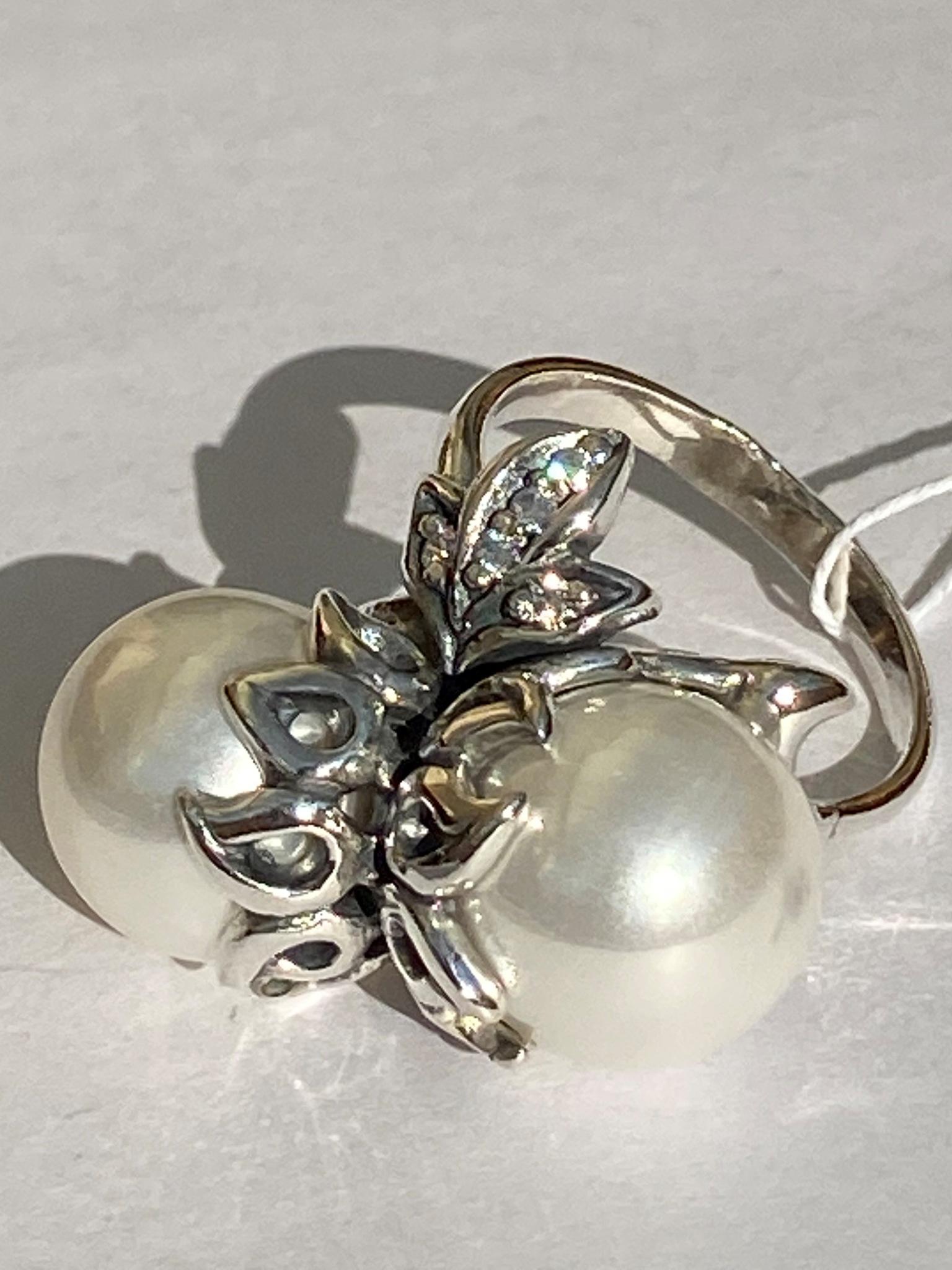 Фундук (кольцо из серебра)