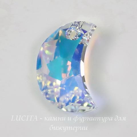6722 Подвеска Сваровски Moon Crystal AB (левая) (16 мм)