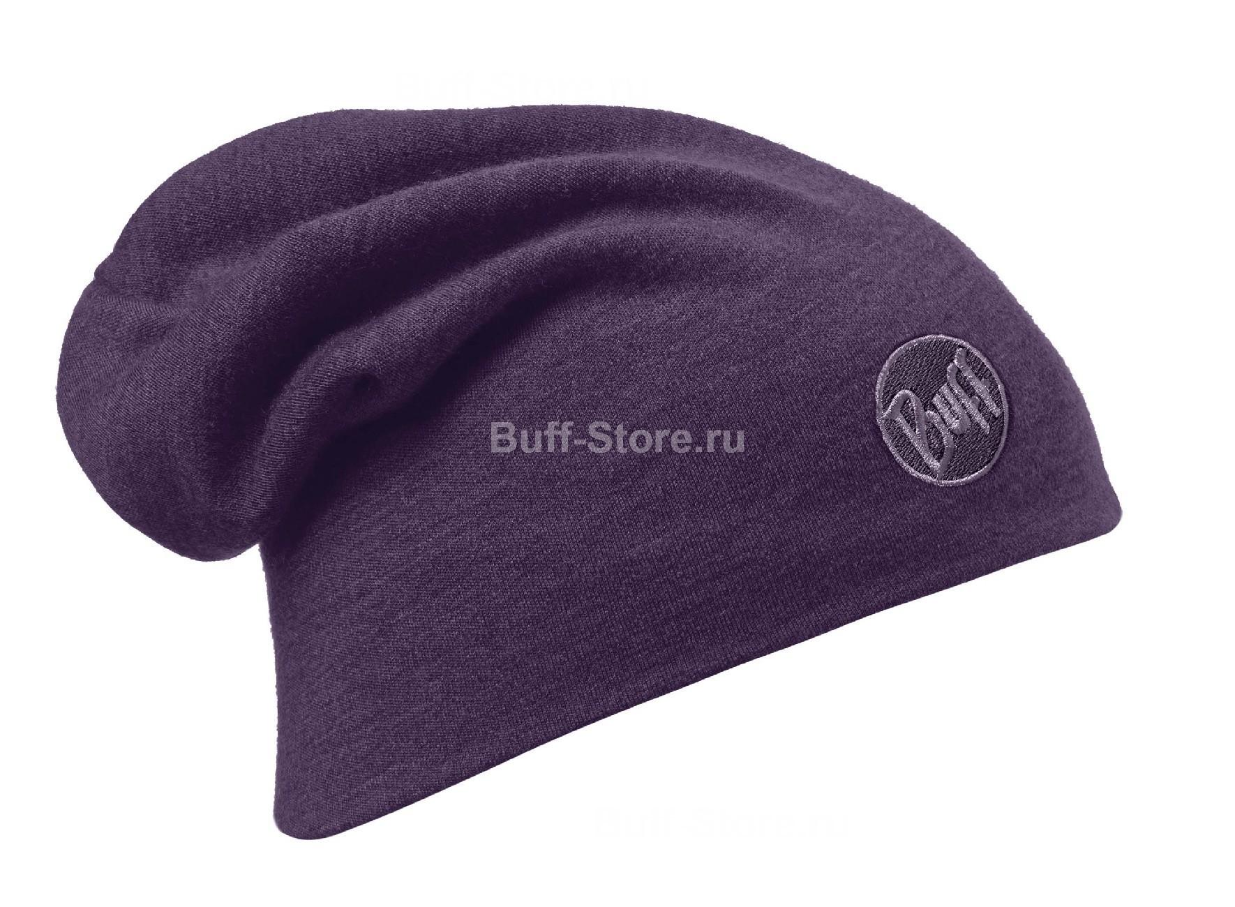 Теплая шерстяная шапка-чулок Buff Plum