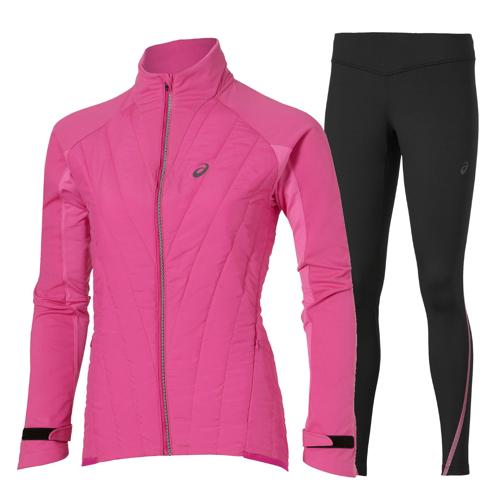 Женский костюм для бега Asics Winter Hybrid (114518 0692-124788 0692) розовый фото