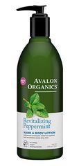 Лосьон для рук и тела с маслом мяты, Avalon Organics