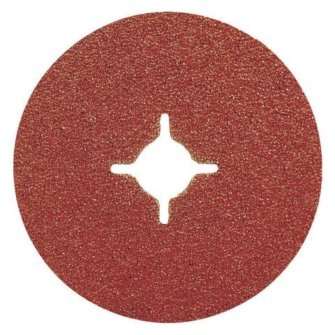 Фибровый шлифовальный диск A24 125 мм