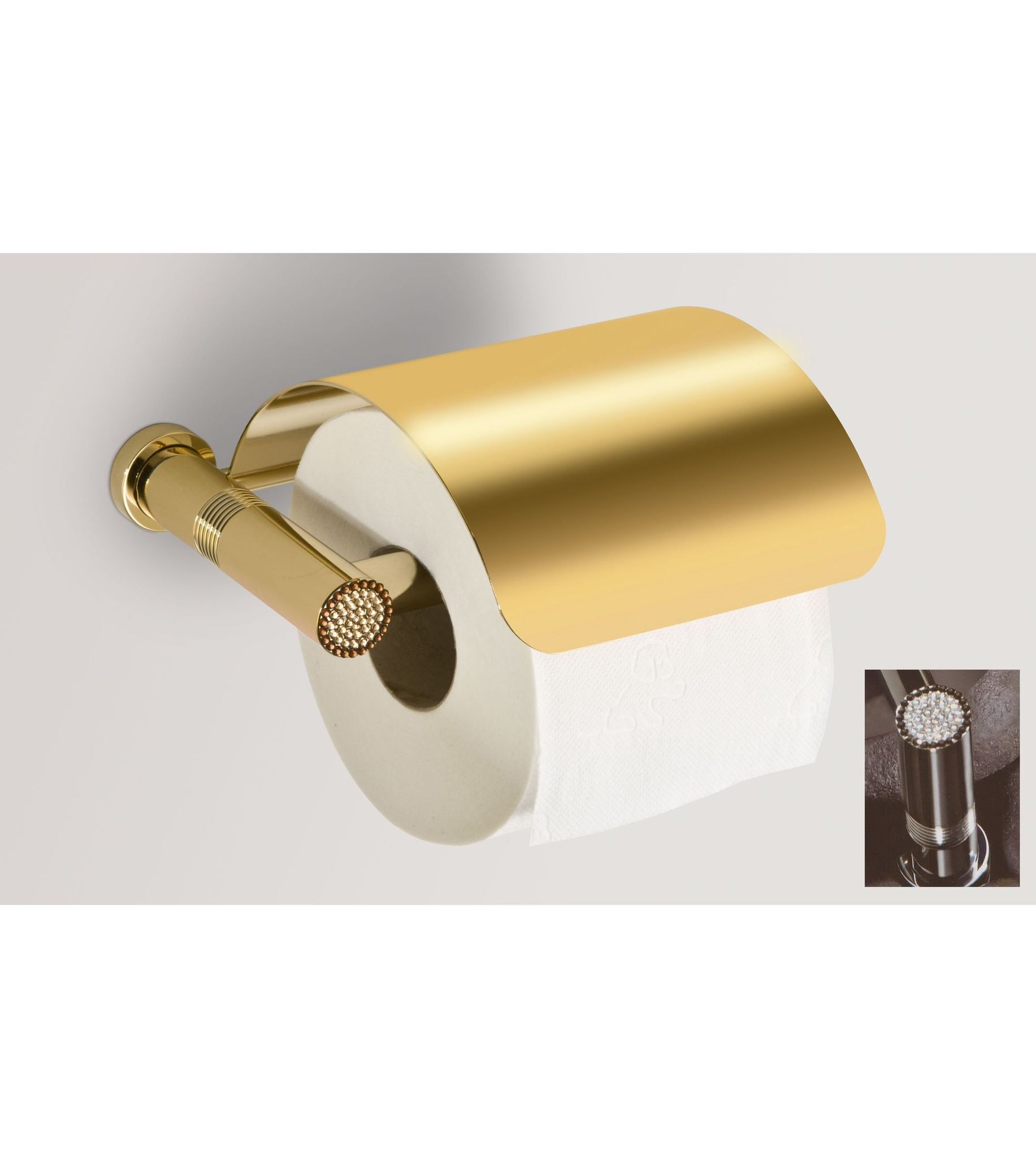 Держатели для ванной Держатель туалетной бумаги c крышкой Windisch 85551CR Starlight derzhatel-tualetnoy-bumagi-c-kryshkoy-85551cr-starlight-ot-windisch-ispaniya.jpg