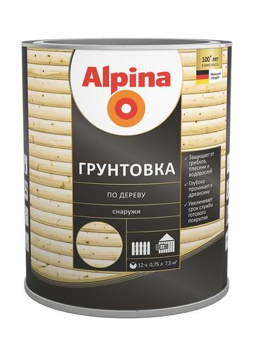 Alpina/Альпина Грунтовка по дереву