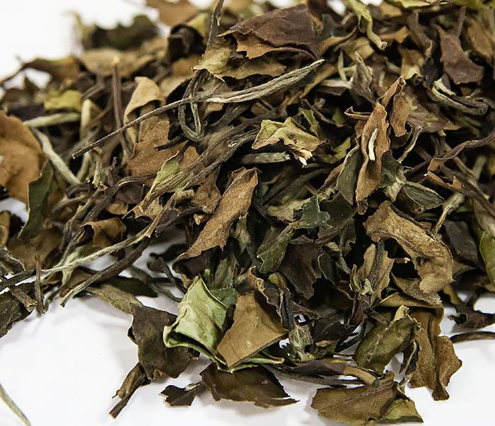 TEA-CH133 Китайский белый чай «Брови долголетия» (Шоу Мэй, 50 гр)