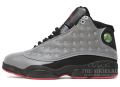 Кроссовки Мужские Nike Air Jordan XIII Grey Black Red