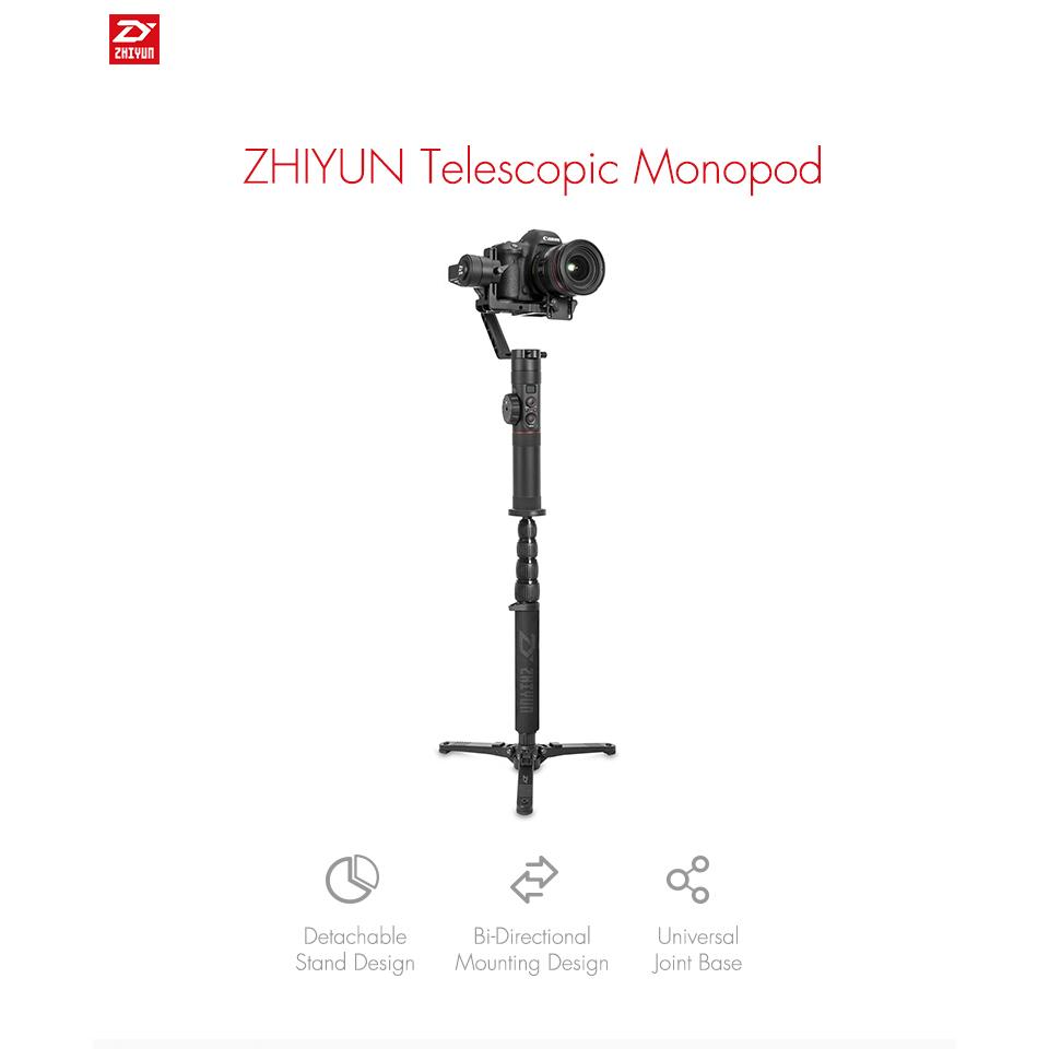 Zhiyun аксессуары Телескопический монопод  Zhiyun Telescopic Monopod Crane 1.jpg