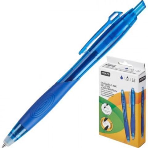 Ручка гелевая Attache Selection стираемая, синий, EGP1608