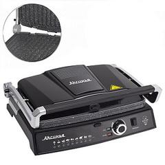 Гриль электрический 2200 Вт АКСИНЬЯ КС-5210 черный