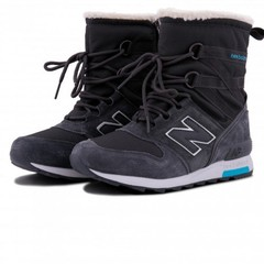 Зимние New Balance Winter Sport Dark Grey With Fur