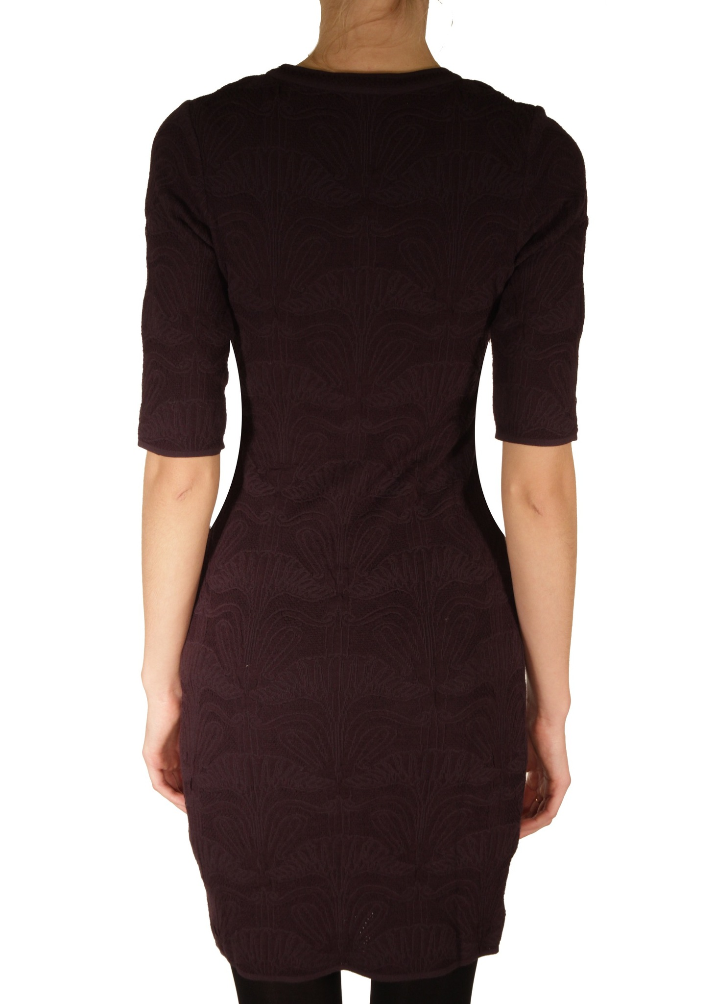 Платье из вискозы и хлопка M MISSONI