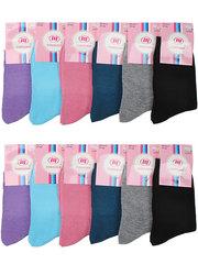 A17 Ромашки носки женские 37-42 (12шт.), цветные
