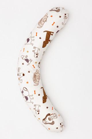 Подушка для беременных C200 (Пенополистирол) 08972 собаки/лапки
