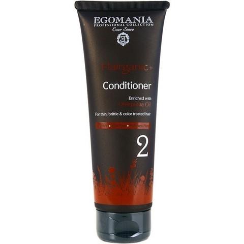 Кондиционер с маслом облепихи для тонких, ломких и окрашенных волос, Egomania Hairganic,250 мл.