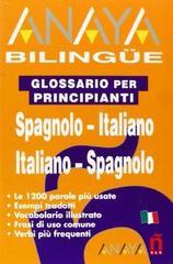 Anaya Bilingue Espanol-Italiano/Italiano-Espanol