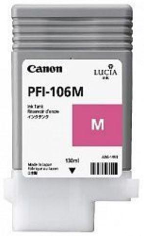 Картридж Canon PFI-106M magenta (пурпурный) для imagePROGRAF 6300/6350/6400/6450