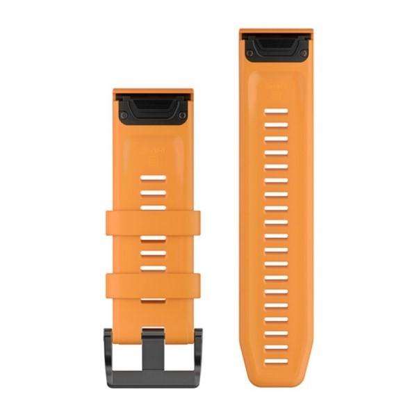 Сменный ремешок Garmin QuickFit 26 мм оранжевый