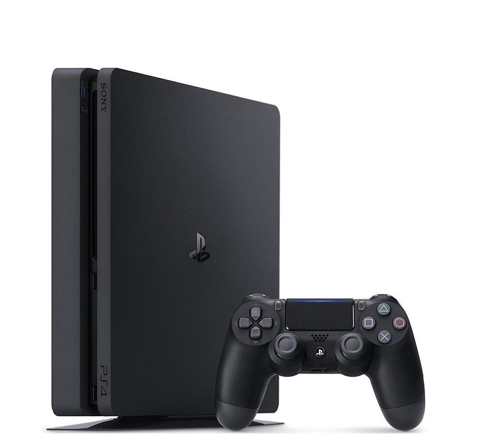 Игровая консоль Sony PlayStation 4 Slim, 500Гб, черный