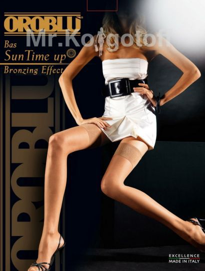 Чулки Oroblu Suntime Up Bronzing Effect 15