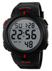 Часы SKMEI 1068 - Черный + Красный