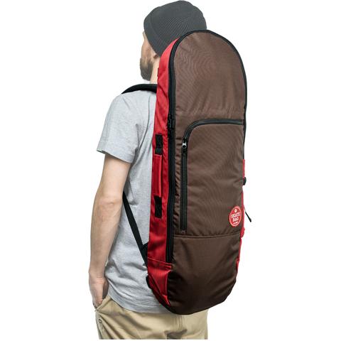 Чехол для скейтборда SKATE BAG Trip (Cherry/Brown)