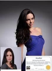 шелковистые волосы длиной 52 см