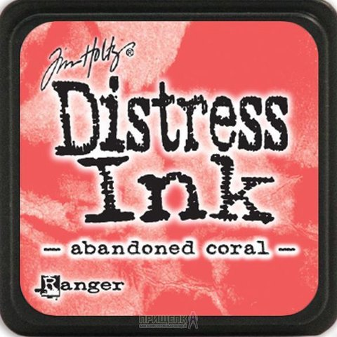 Подушечка Distress Ink Ranger - abandoned coral