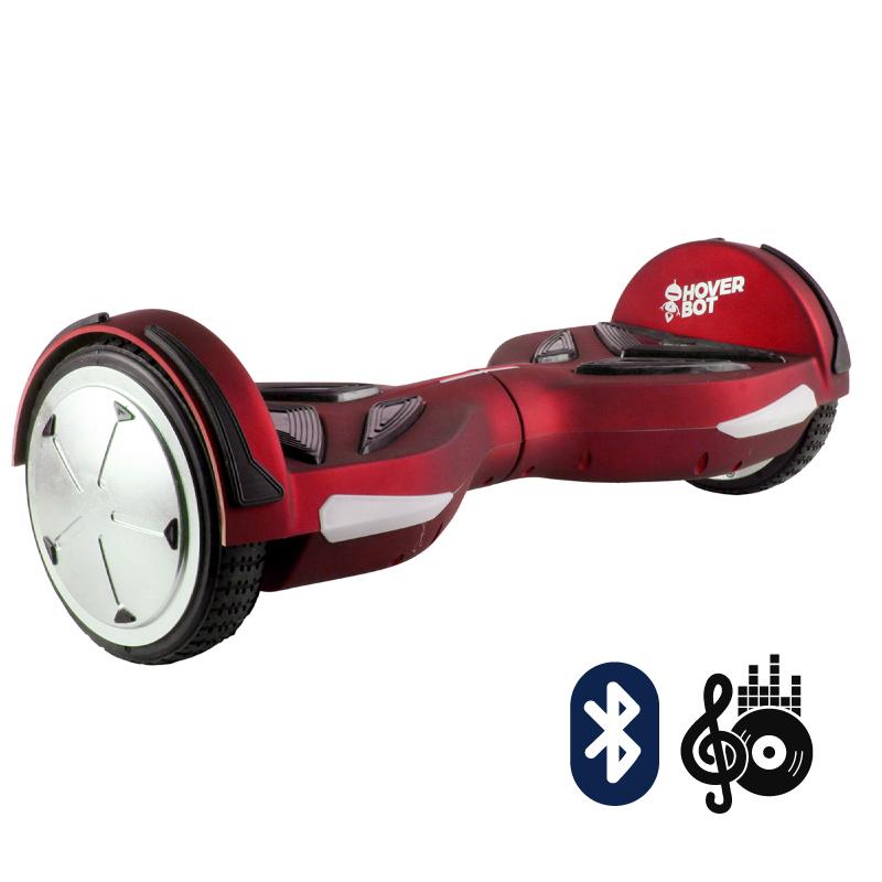 Hoverbot A5 красный матовый (Bluetooth-музыка + пульт + сумка) - 6,5 дюймов, артикул: 697915