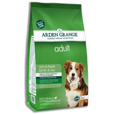 Ардэн Грэндж Корм сухой для взрослых собак, с ягненком и рисом (6 кг), AG Adult Dog Lamb & Rice