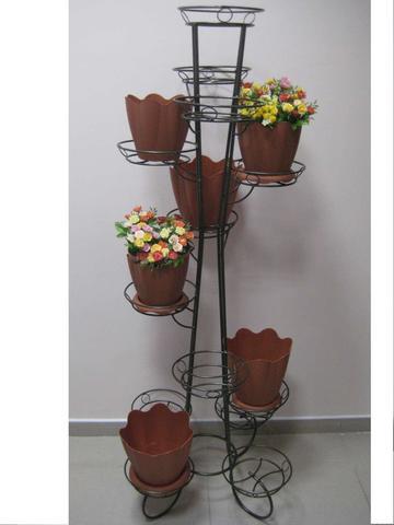 Подставка под цветы Ракета на тринадцать горшков