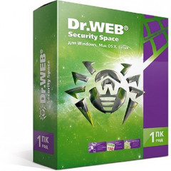 Антивирус DR.Web (BHW-B-12M-1-A3) Security Space 1 ПК/1 год