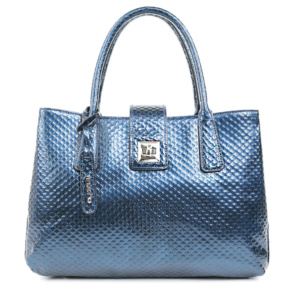 5277 Fiato  анаконда синий  (сумка женская)