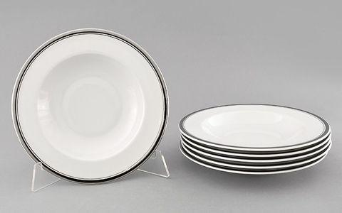 Набор тарелок глубоких 23 см 6 штук Сабина Leander