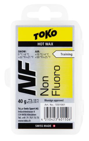 парафин Toko TRIBLOC NF жёлтая, 0°/-6°С, 40 гр.