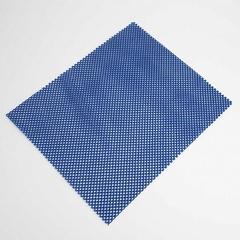 Коврик универсальный противоскользящий 32х40см 12MP-027 синий