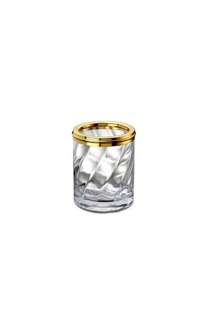 Стакан малый 91801O Salomonic Spiral Gold от Windisch