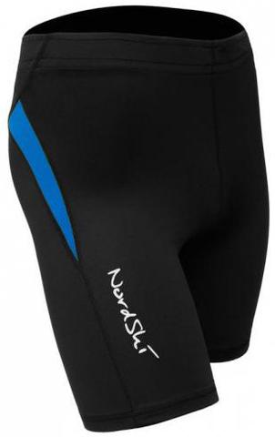 Шорты обтягивающие Nordski Premium Run Black-Blue унисекс